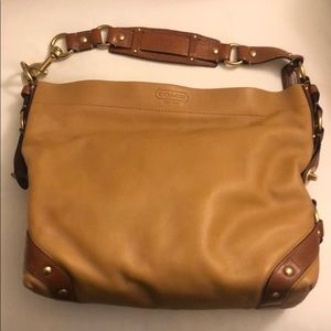 Coach Women's Carly Leather Shoulder Bag